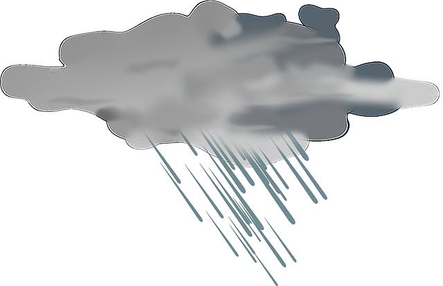 déšť z mraku