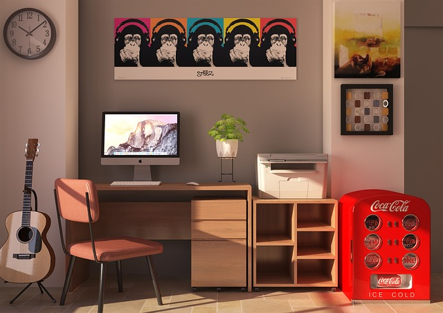tiskárna v interiéru